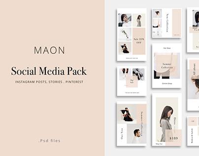 MAON - Social Media Pack
