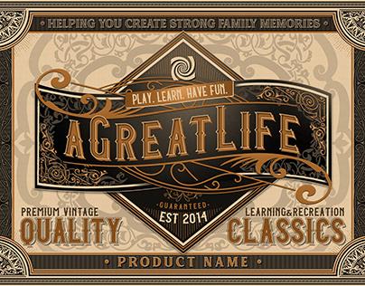 AGreatLife Brand Standard Packaging Style