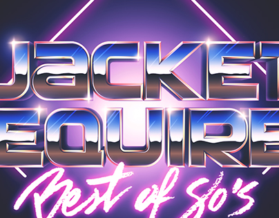 Jacket Requied [80s Band Logo]