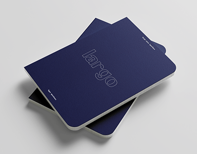 Largo Sans Typeface and Type Specimen