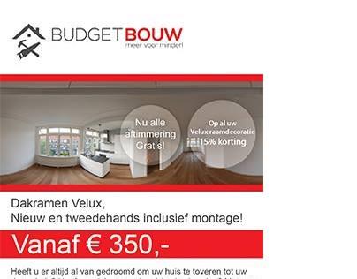 Budget Bouw flyer