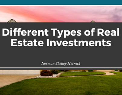 Real Estate Investments By Norman Shelley Hernick