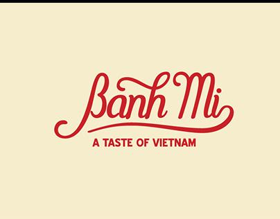 Banh Mi brand identity
