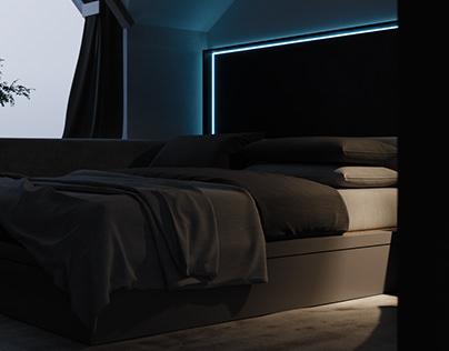 GENTLE BEDROOM by JP
