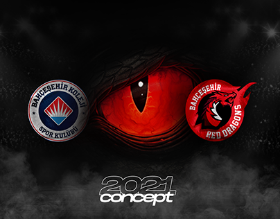 Bahçeşehir College Sports Club & Red Dragons Branding