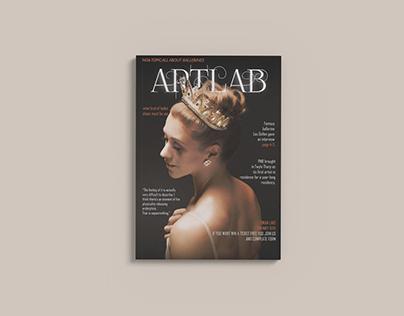 ARTLAB magazine cover