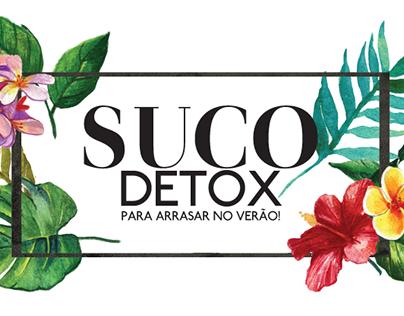 Infográfico - Suco Detox