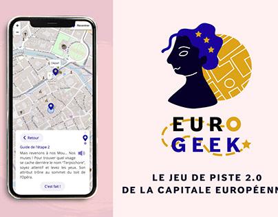 Eurogeek - Jeu de piste 2.0