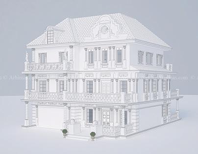 Эскизный проект дома Одесса-Архимас
