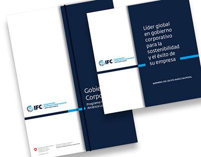 Carpeta y tríptico para Gobierno Corporativo – IFC
