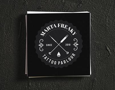 Tattoo logo branding