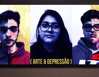 {Arte & Depressão}