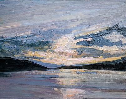 Silvery Sunset, Loch Fyne