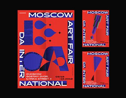 DA!MOSCOW ART FAIR 2019 VISUAL DESIGN