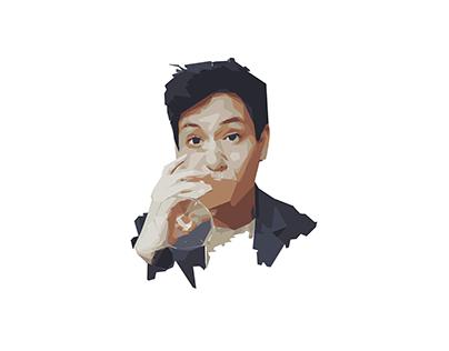 Social Profile Illustration