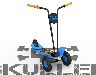 SKULLER - All terrain scooter / Scooter todoterreno