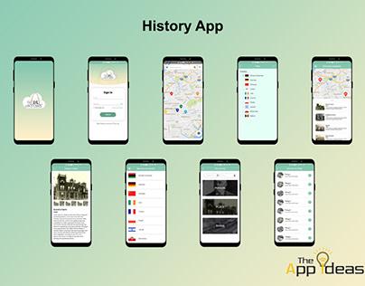 Mobile App Development - History App