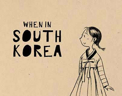 Traveling Diary - South Korea