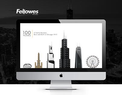 Fellowes Brands Website 2017