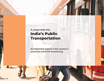 System Design Project-India's Public Transportation