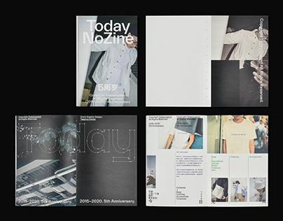 Book Design|Today No Zine 今日无风五周年刊物