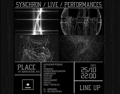 Audiovisual performance GENERATIVE AV/SHOW