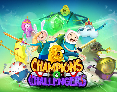 Adventure Time Champions&Challengers Mobile Game