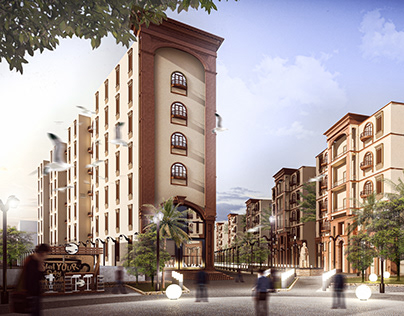 Urban Re-Design Of Shubra's DistrictSouthern Entrance