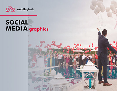 WeddingBirds   Social Media Graphics