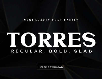 TORRES - FREE LUXURY FONT FAMILY