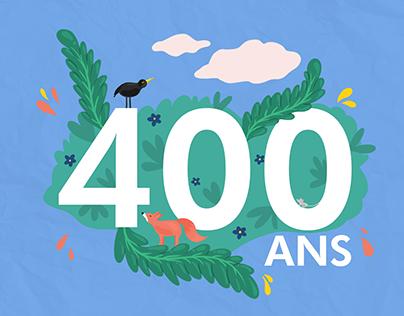 400 ans Jean de La Fontaine