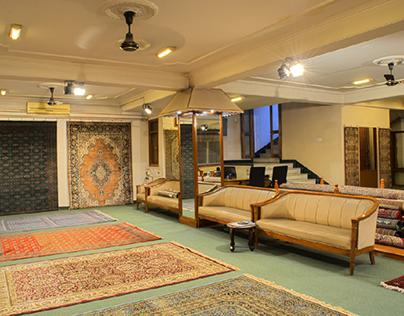 Interior shoot for a carpet showroom - Delhi/gurgaon