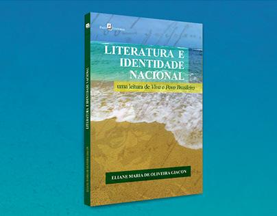 """Capa do livro """"Literatura e Identidade Nacional"""""""