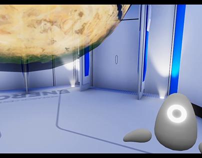 EU Data Visualization in Virtual Reality