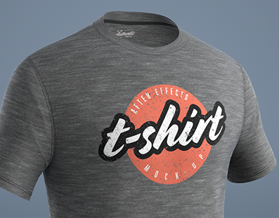 T-Shirt Mockup for After Effects