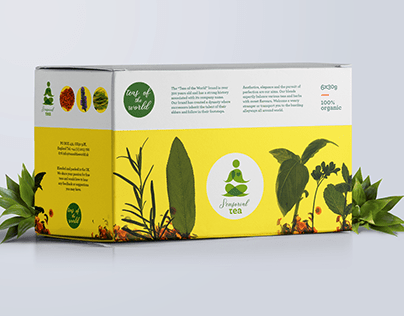 Sensorial Tea: Branding and Packaging