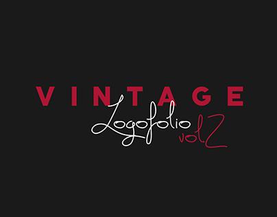 Vintage Text Logos vol.2