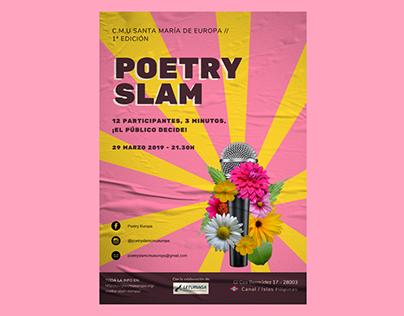 Poetry Slam CMU Europa 2019
