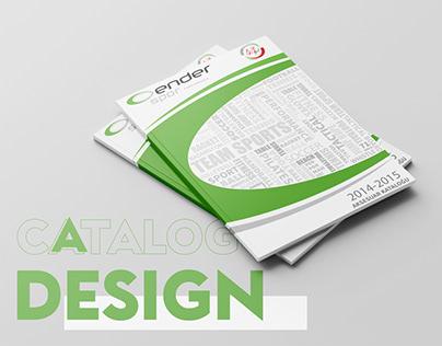 Ender Spor 2014-2015 Catalog Design
