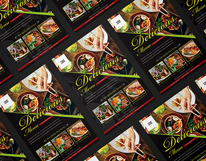 Free Food Restaurant Flyer Template