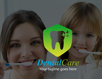Free Dental Care Logo Template
