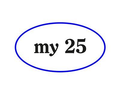 MY SWEET 25