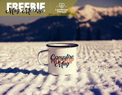 FREE Mug Mockup / Free White Mug Mockup / Free Tin Mug