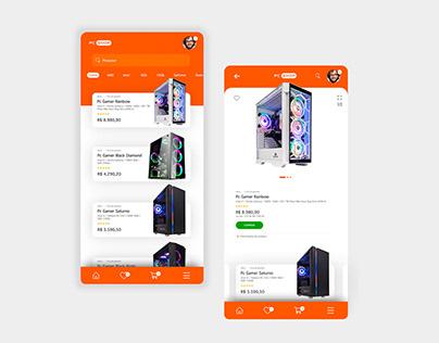 Conceito app PC SHOP