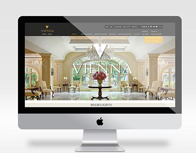 Vienna Hotel (Web Interface Design)