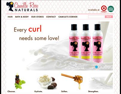 Camille Rose Naturals Website