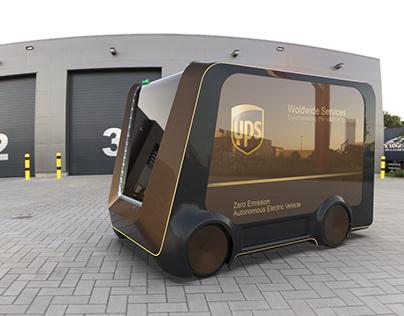UPS | Autonomous delivery vehicle