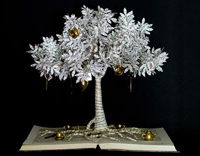 Alice In Wonderland Tree - Book Arts