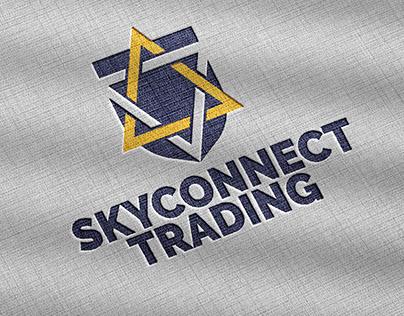SkyConnect Trading Logo Design