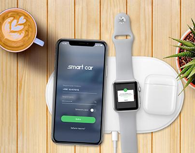 Ucell SmartCar App - UI/UX - Timur Aliev & SmartLab